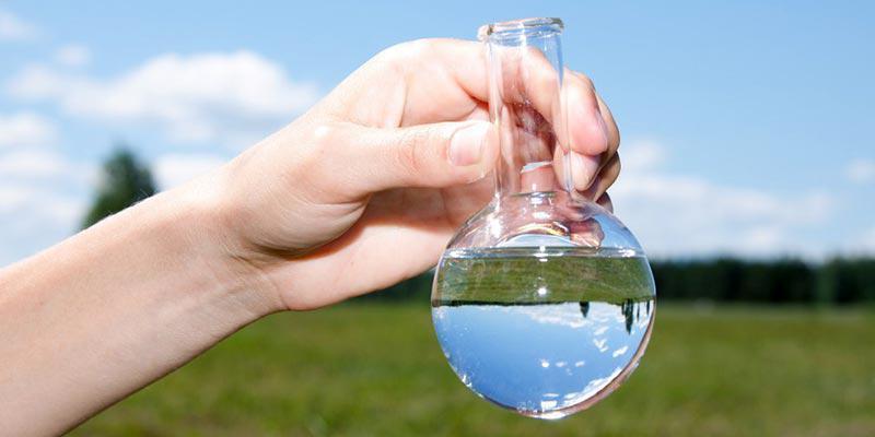 проверенная вода после анализа