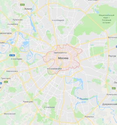 СЭС ЦАО г Москвы