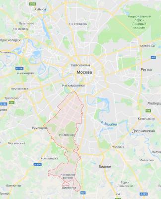 Территория СЭС ЮЗАО